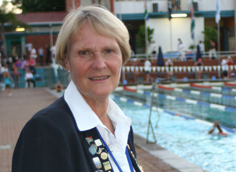 Wendy Albertyn, founder of Champion Swimming Club and swimming coach